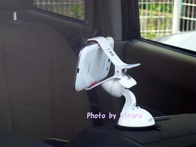 ギャラクシーS3 スマートフォンホルダー 背面