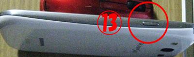 ギャラクシーS3 各部名称 サイド2